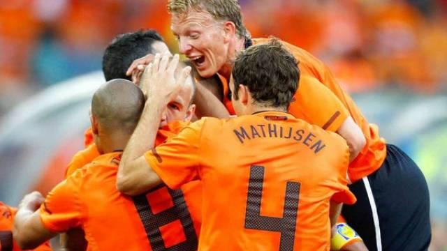 Holländer hatten während der Vorrunde viel Grund zu Jubel