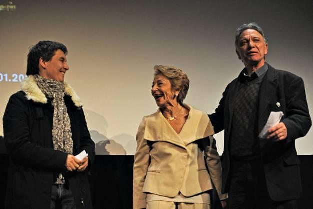 Sie haben an Hiver Nomade, dem Wunschfilm der Preisträgerin, mitgearbeitet