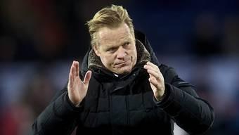 Ronald Koeman ist neuer holländischer Nationaltrainer