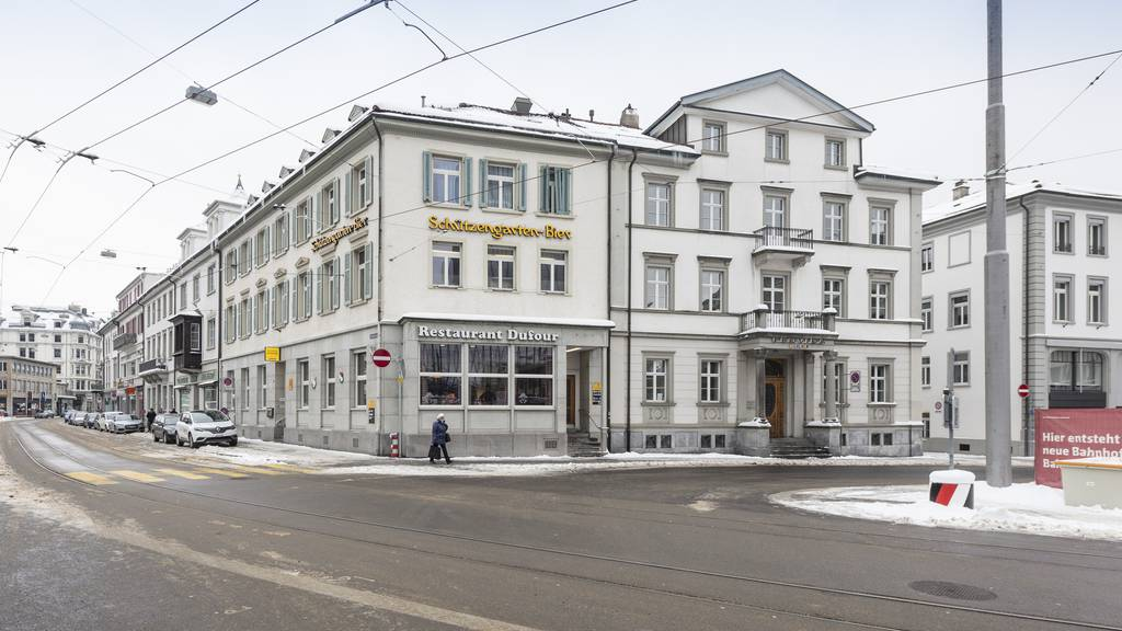 In der Nähe des Bahnhofs St.Gallen entsteht eine Gasthausbrauerei. (Archiv)