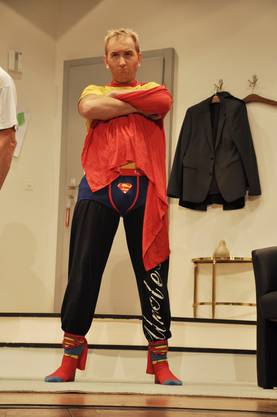 "Hugo Klotz alias ""Hugo"" alias ""Supermann""(Theo Sibold) rettet die Welt"