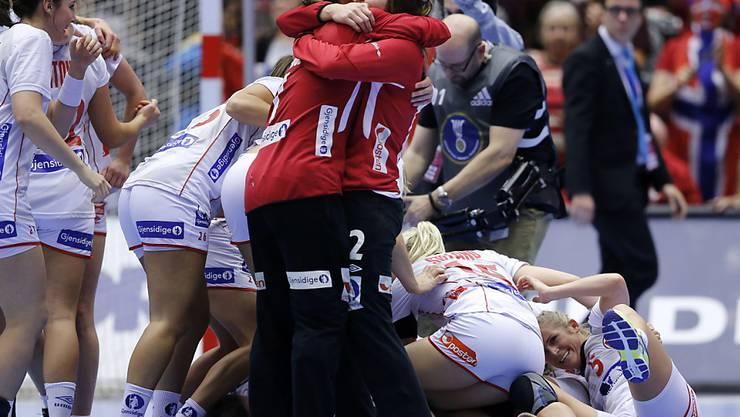 Norwegen hat mit dem Olympiasieg, dem EM-Titel und dem WM-Titel alle drei grossen Titel inne