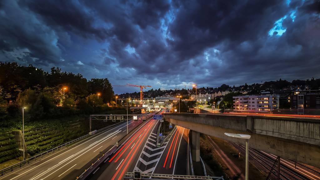 Signal bei Sanierung beschädigt – Stadtautobahn nach Sperrung wieder offen