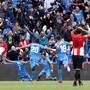Getafes Spieler konnten auch gegen Bilbao jubeln