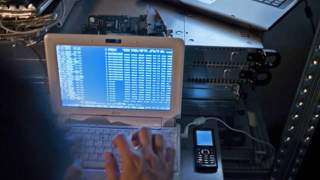 Die Schweiz verzeichnete weniger Netzwerkattacken (Symbolbild)