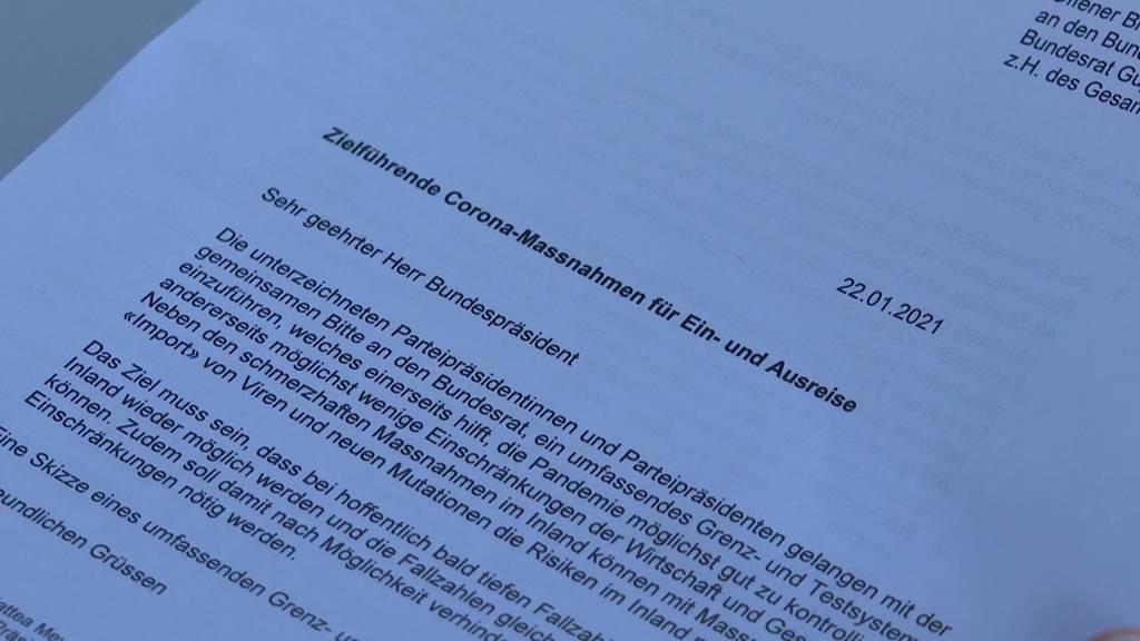 Schweizer Parteispitzen fordern härteres Grenzregime: Das müssen Sie dazu wissen