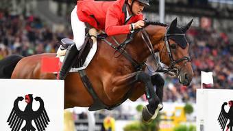 Harmonie zwischen Reiter und Pferd: Steve Guerdat und Corbinian im Nationenpreis des CHIO Aachen
