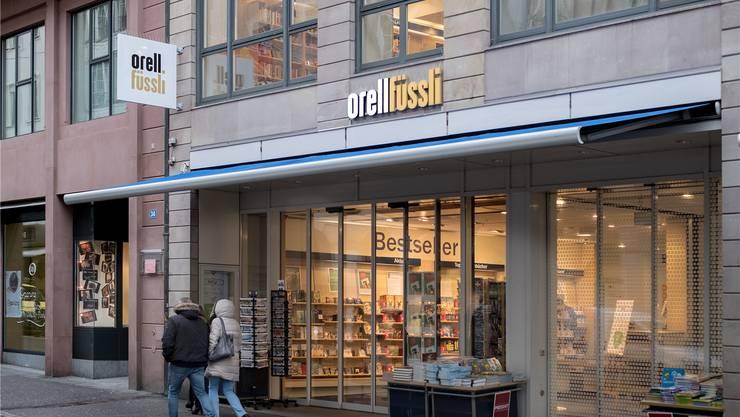 Die Buchhandlung Orell Füssli verlässt ihren jetzigen Standort in der Basler Freien Strasse. Kenneth Nars