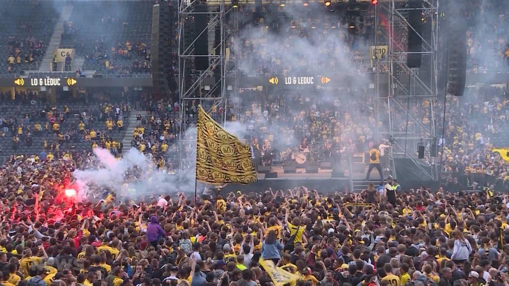 YB-Meisterfeier steigt erst am Sonntag