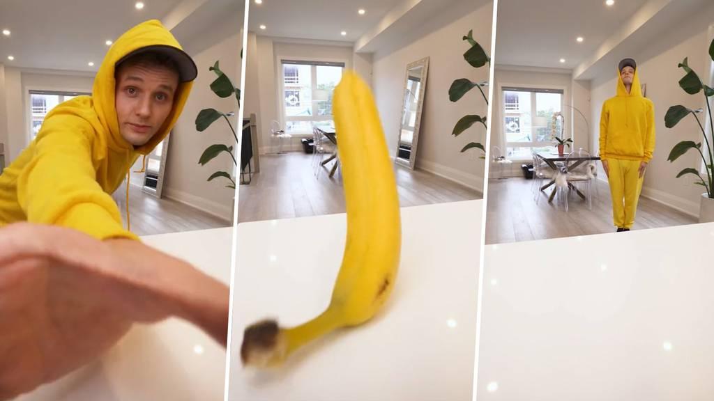 So wirst du zur Banane