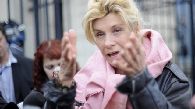 Muss umziehen: Virginie Tellenne alias Frigide Barjot (Archiv)