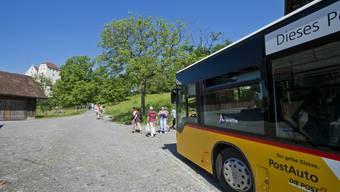 Zusammen mit Postauto Schweiz AG geht Aargau Tourismus neue Wege