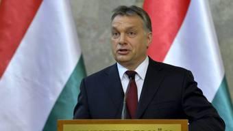Viktor Orban, Ministerpräsident Ungarns und Chef der Fidesz-Partei