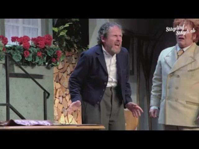 Trailer Stägeli Uf - Stägeli Ab im Bernhard Theater