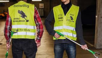 Weiter unterwegs im Kampf gegen das Littering in der Stadt: Güselwehr Aarau stärkt sich mit Vereinsgründung.