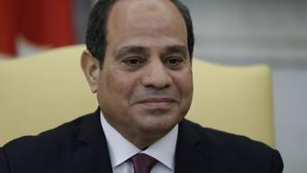 Mit Verfassungsänderungen will der ägyptische Präsident Abdel Fattah al-Sisi seine Macht weiter festigen. (Archivbild)