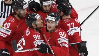 Kann die Schweizer Eishockey-Nati heute erneut jubeln?