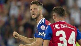 Mit zwei Toren am Basler Sieg beteiligt: Stürmer Ricky van Wolfswinkel