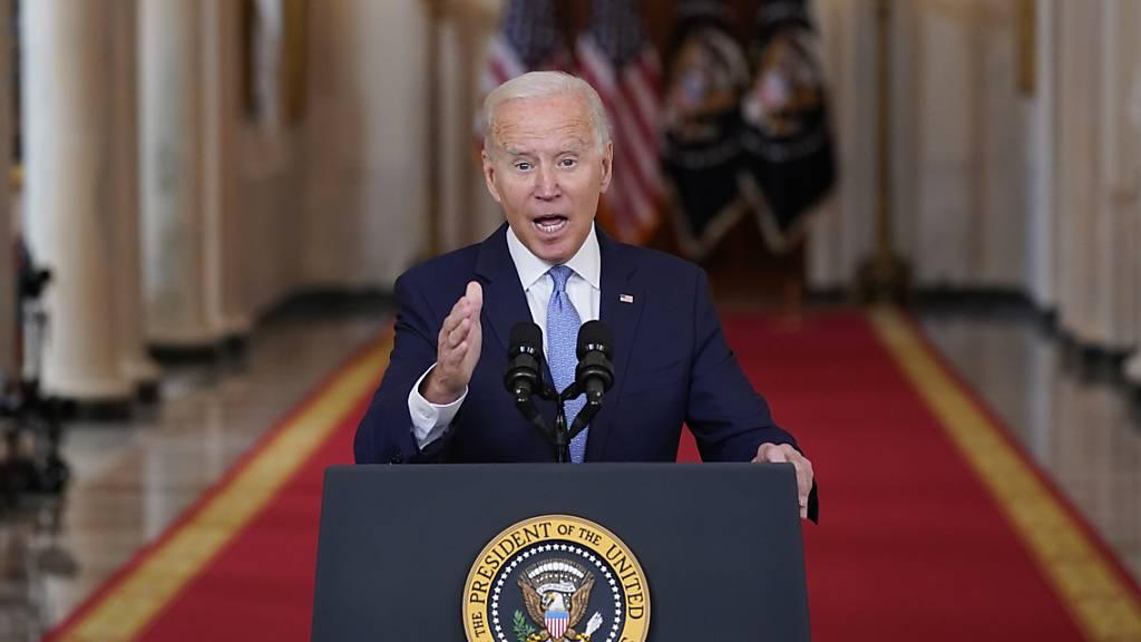Biden verteidigt Abzug aus Afghanistan - Alles schaut nun auf Taliban
