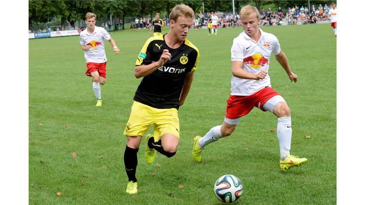 Zuvor war Dortmund (hier Lukas Culjak) problemlos in den Final spaziert.