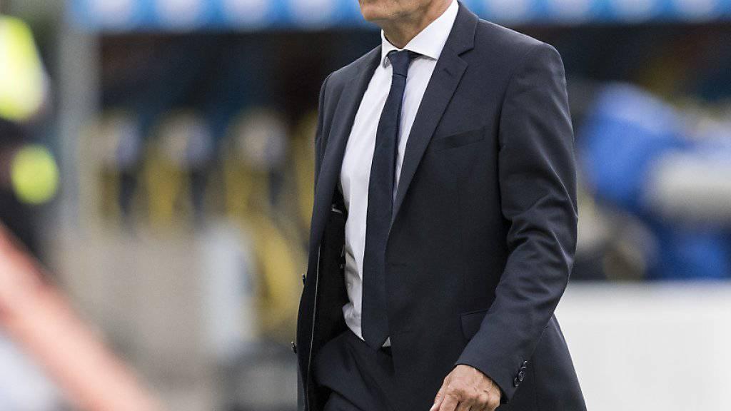 Bringt Basels Trainer Marcel Koller seine Mannschaft wieder auf Vordermann?
