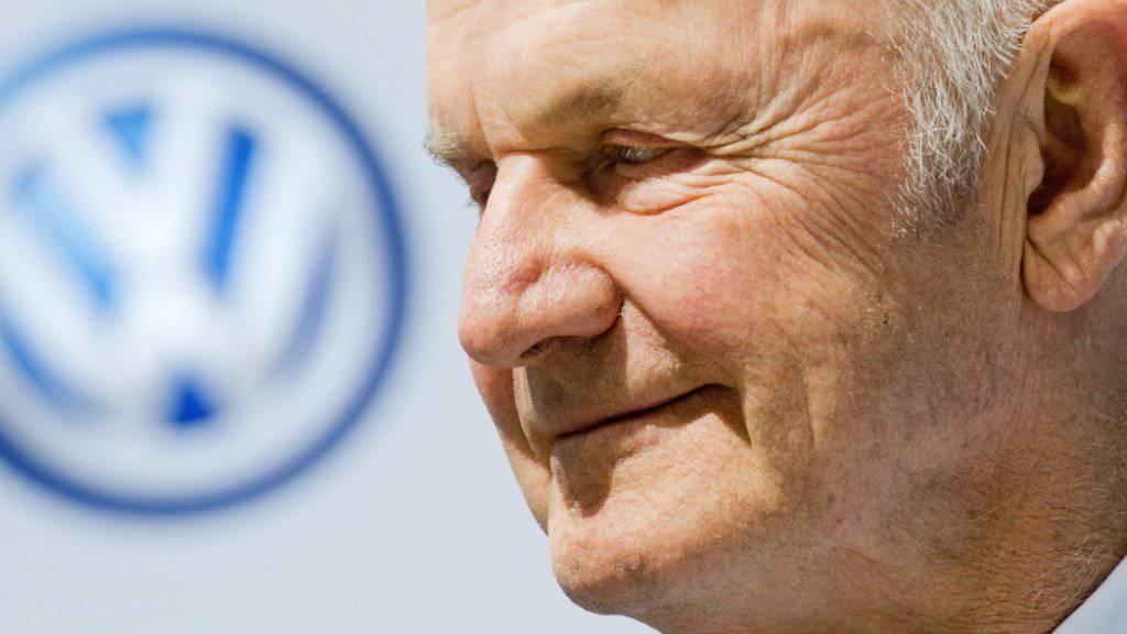 Ferdinand Piech ist für VW eine prägende Figur. Nun wird der 80. (Archivbild aus dem Jahr 2014)