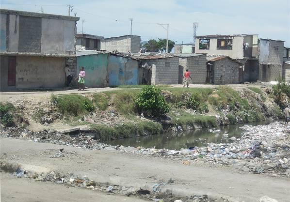 So sieht die Wohnsituation in Haiti aus. CAM