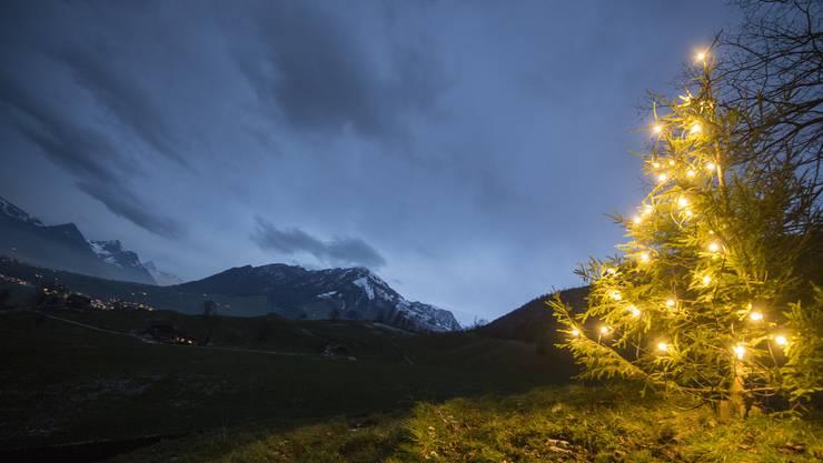 Es wird eine windige, aber kaum weisse Weihnachten geben.