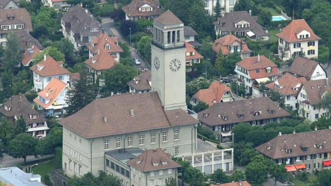 Schlafraubend: Die Friedenskirche in Berns Mattenhofquartier. Foto: Mike Lehmann
