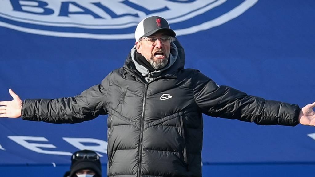 Jürgen Klopp war in dieser Saison nicht selten am Verzweifeln