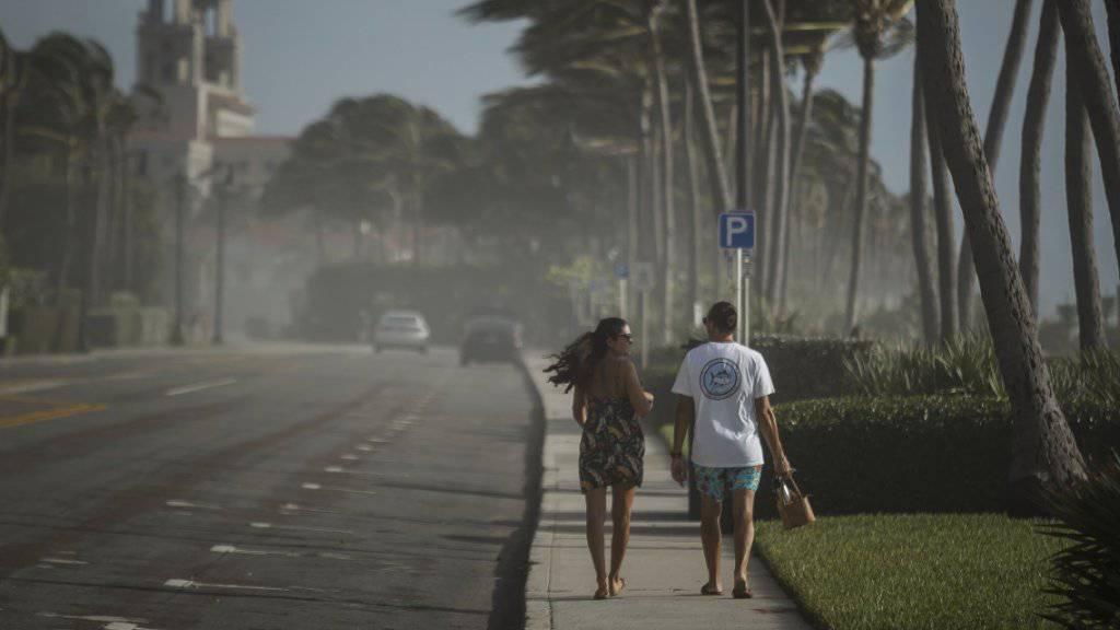 US-Wetteramt stuft «Isaias» zu Tropensturm zurück