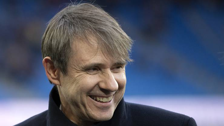 Bernhard Burgener hat angesichts der Marktwertsteigerung seiner Spieler gute Laune.
