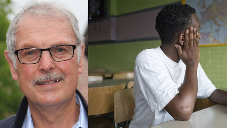 Der ehemalige SVP-Grossrat Jörg Hunn fordert, dass die Aargauer Gemeinden mehr Solidarität für die Asylbewerber zeigen.