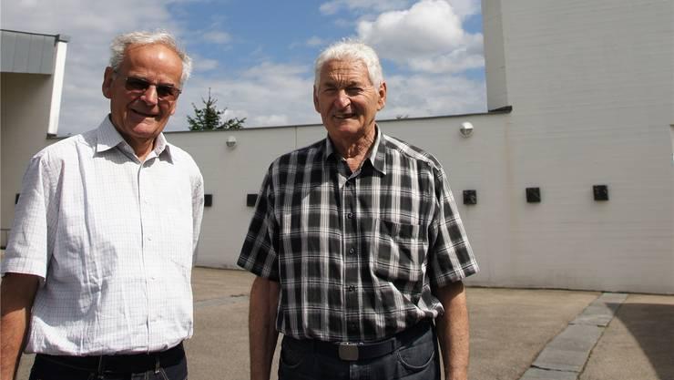 Josef Seiler (l.) und Fridolin Staubli