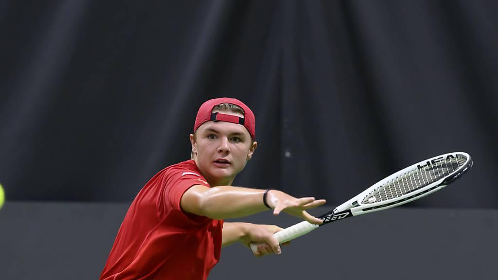Zwei Junioren schreiben Schweizer Tennis-Geschichte