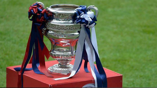 Pokal der Schweizer Fussball Cups.