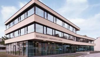 Die Reformierten Landeskirche Aargau, hier die Zentrale am Stritengässli 10 in Aarau, hat wieder Mitglieder verloren.