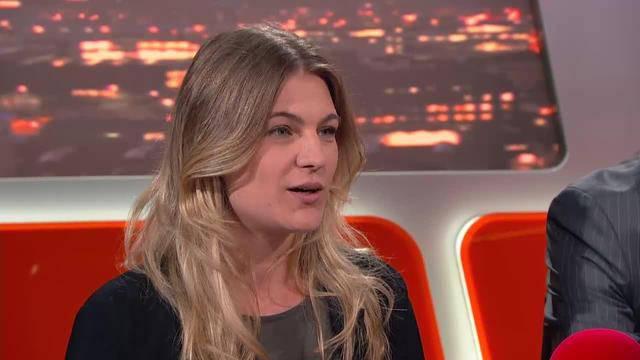 Angela Magdici spricht über ihre Flucht