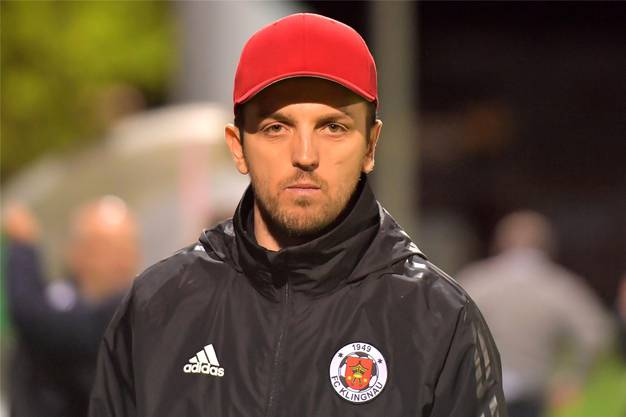 Klingnaus Trainer Danijel Kovacevic.