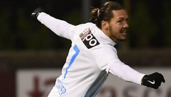 Adrian Winter schoss für den FC Zürich das Siegestor in Chiasso (Archivbild)