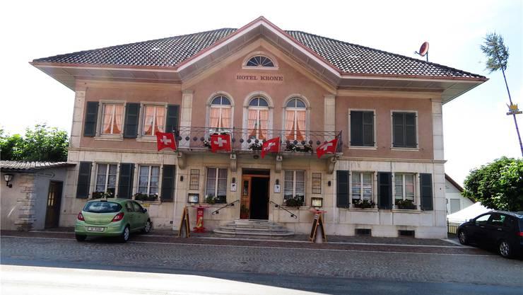 Eines von vielen eindrücklichen Restaurants im Bucheggberg – Die Krone in Schnottwil.