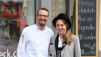 Kevin Sollberger beschäftigt die deutsche Wandergesellin Julia während zweier Wochen in Gontenschwil.