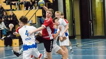 Die Junioren der HSG Aargau Ost lancierten eine Aufholjagd.
