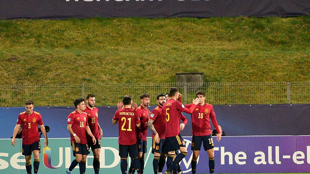 Spaniens U21 sichert sich den 1. Platz in der Gruppe B und ist ein potenzieller Viertelfinalgegner der Schweiz - die Schweiz steht jedoch am Mittwoch gegen Portugal unter Zugzwang