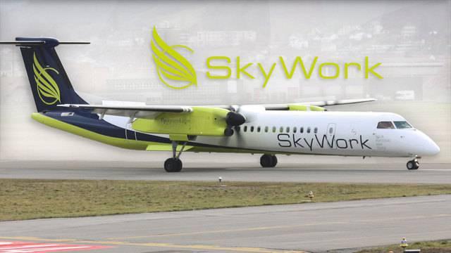 SkyWork-Grounding — Fluggesellschaft ist pleite