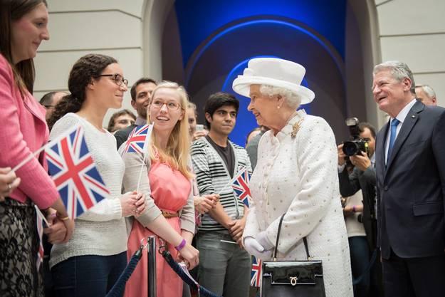 Es ist bereits der fünfte Besuch der Queen in Deutschland