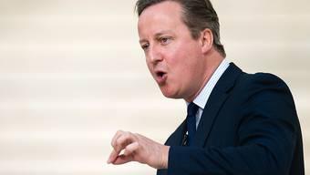 Premierminister David Cameron warnte seine Landsleute vor einem Nein zur EU.