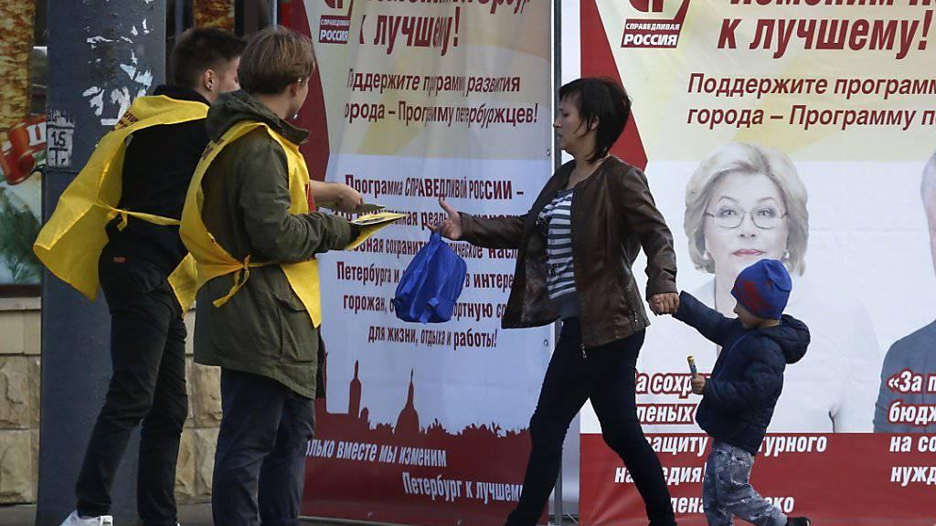 OSZE wird Wahlbeobachter in Russland nahezu verdoppeln