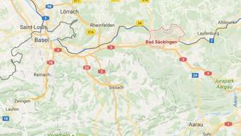 Bad Säckingen liegt auf deutschem Boden rund 45 Autominuten von Basel entfernt.