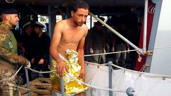 Flüchtlinge bei Lampedusa